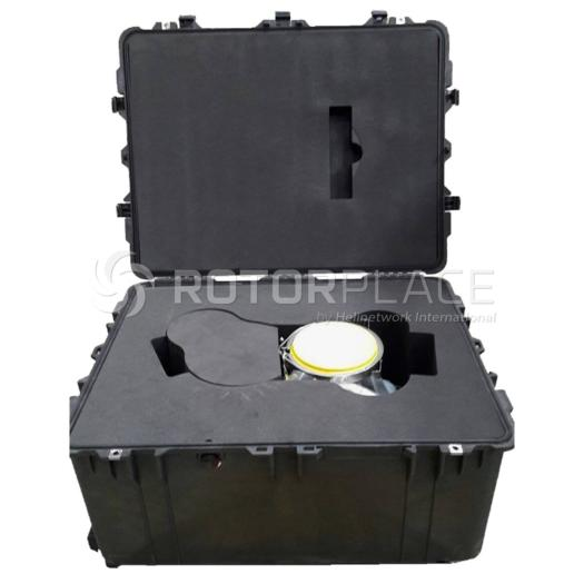 Gearbox LH accessory case for H225